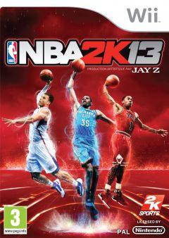 Jaquette de NBA 2K13 Wii