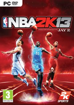 Jaquette de NBA 2K13 PC