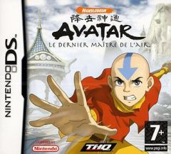 Jaquette de Avatar : le dernier maître de l'air DS