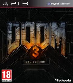 Jaquette de Doom 3 BFG Edition PlayStation 3