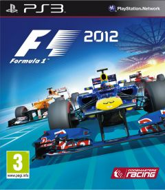 Jaquette de F1 2012 PlayStation 3