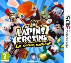 Jaquette de The Lapins Crétins : La Grosse Bagarre Nintendo 3DS