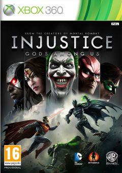 Jaquette de Injustice : Les Dieux Sont Parmi Nous Xbox 360