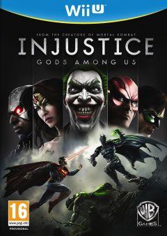 Jaquette de Injustice : Les Dieux Sont Parmi Nous Wii U