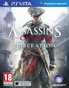 Jaquette de Assassin's Creed III : Liberation PS Vita