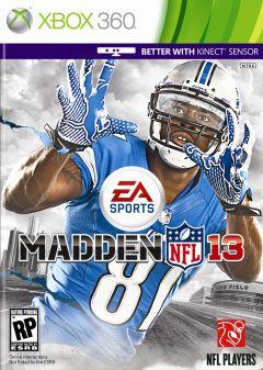 Jaquette de Madden NFL 13 Xbox 360