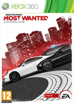 Jaquette de Need For Speed Most Wanted Xbox 360