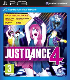 Jaquette de Just Dance 4 PlayStation 3