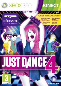 Jaquette de Just Dance 4 Xbox 360