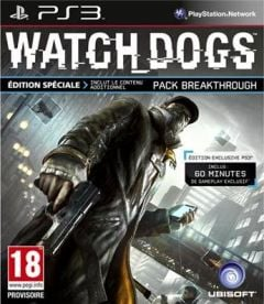 Jaquette de Watch Dogs PlayStation 3