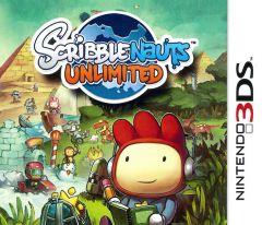 Jaquette de Scribblenauts Unlimited Nintendo 3DS