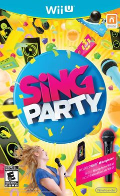Jaquette de SiNG Party Wii U