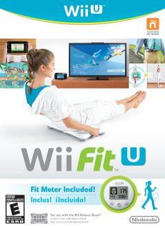 Jaquette de Wii Fit U Wii U