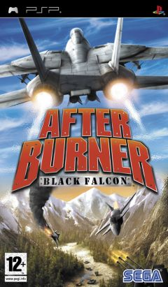 Jaquette de After Burner : Black Falcon PSP