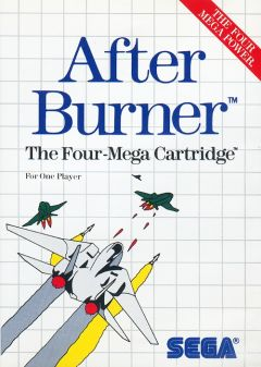 Jaquette de After Burner Master System