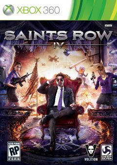 Jaquette de Saints Row IV Xbox 360