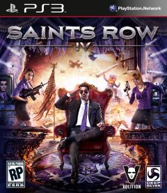 Jaquette de Saints Row IV PlayStation 3