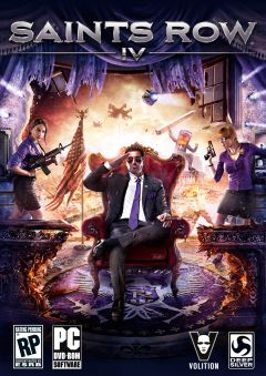 Jaquette de Saints Row IV PC