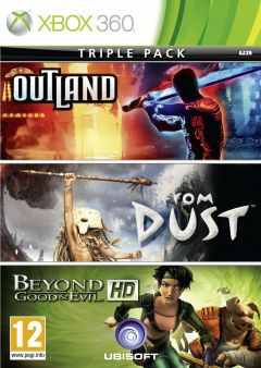 Jaquette de Ubisoft Xbox Live Hits Collection (From Dust, BG&E HD, Outland) Xbox 360