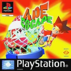 Jaquette de Ape Escape PlayStation