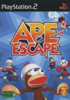 Jaquette de Ape Escape 2 PlayStation 2