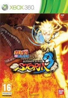 Jaquette de Naruto Shippuden : Ultimate Ninja Storm 3 Xbox 360