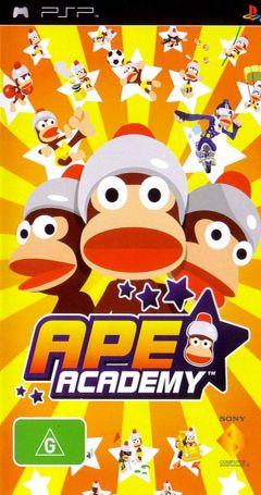 Jaquette de Ape Academy PSP