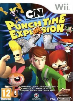Jaquette de Cartoon Network : Punch Time Explosion XL Wii