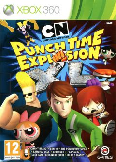 Jaquette de Cartoon Network : Punch Time Explosion XL Xbox 360