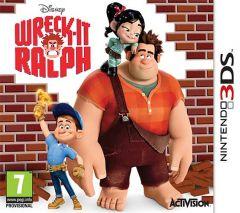 Jaquette de Les Mondes de Ralph Nintendo 3DS
