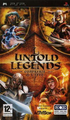 Jaquette de Untold Legends : La Confrerie de l'Epee PSP