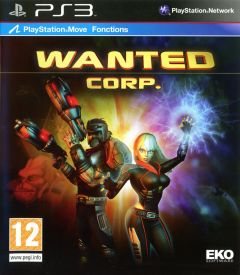 Jaquette de Wanted Corp. PlayStation 3
