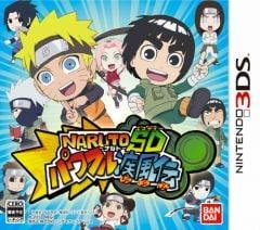Jaquette de Naruto Powerful Shippuden Nintendo 3DS