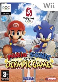 Jaquette de Mario & Sonic aux Jeux Olympiques Wii