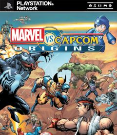 Jaquette de Marvel Vs. Capcom Origins PlayStation 3