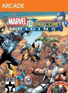 Jaquette de Marvel Vs. Capcom Origins Xbox 360