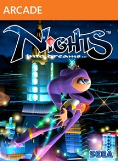 Jaquette de NiGHTS : Into Dreams... Xbox 360