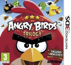 Jaquette de Angry Birds La Trilogie Nintendo 3DS