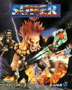 Jaquette de Super Street Fighter II Turbo Amiga