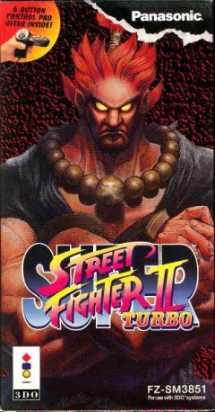 Jaquette de Super Street Fighter II Turbo 3DO