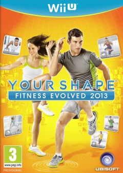 Jaquette de Your Shape : Fitness Evolved 2013 Wii U