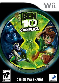 Jaquette de Ben 10 Omniverse Wii