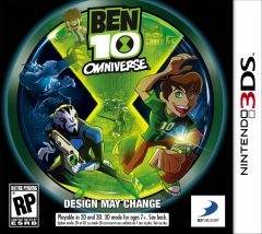 Jaquette de Ben 10 Omniverse Nintendo 3DS