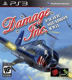 Jaquette de Damage Inc. Pacific Squadron WWII PlayStation 3