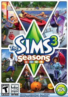 Jaquette de Les Sims 3 : Saisons Mac