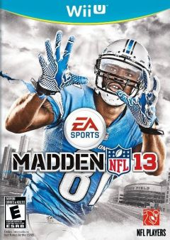 Jaquette de Madden NFL 13 Wii U