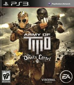 Jaquette de Army of TWO : Le Cartel du Diable PlayStation 3