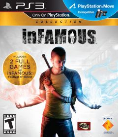 Jaquette de inFAMOUS Collection PlayStation 3