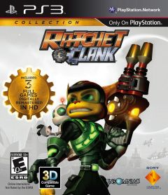 Jaquette de Ratchet & Clank Collection PlayStation 3