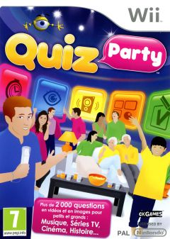 Jaquette de Quiz Party Wii